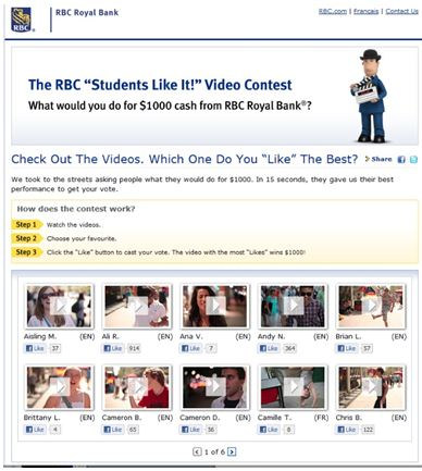 RBC Royal Bank Student Contest 3
