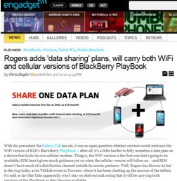 Rogers Communications TabLife TO events