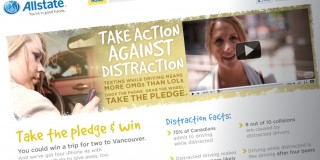 Allstate Action Against Distraction Branding