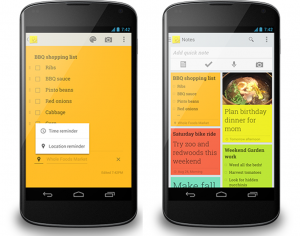 Google Keep for content marketers