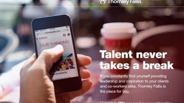 TF is hiring talent