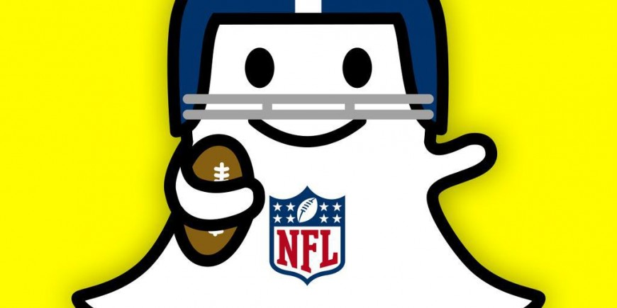 The NFL is on Snapchat
