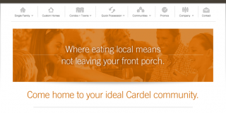 Cardel Homes Digital Marketing Campaign