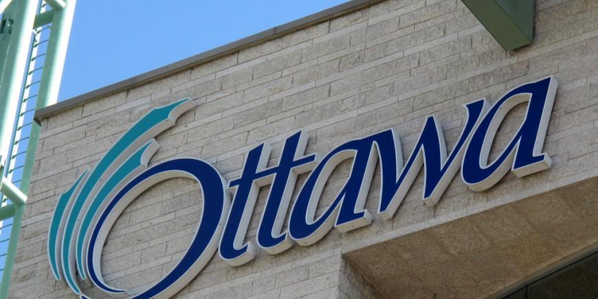 Ottawa City Hall Sign